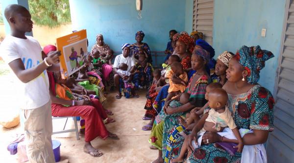 Prevenzione e presa in carico della malnutrizione acuta a Ségou