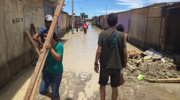 Water and sanitation facilities for families hit by floods