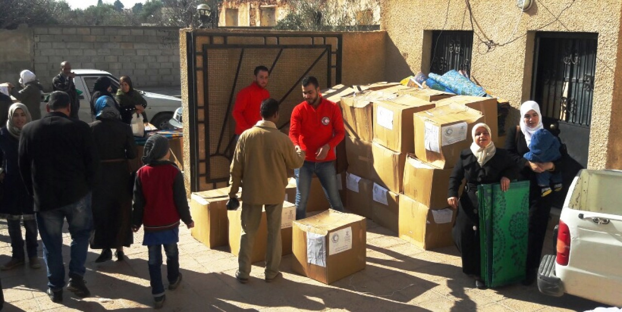 Gardening kits for vulnerable communities in Damascus area