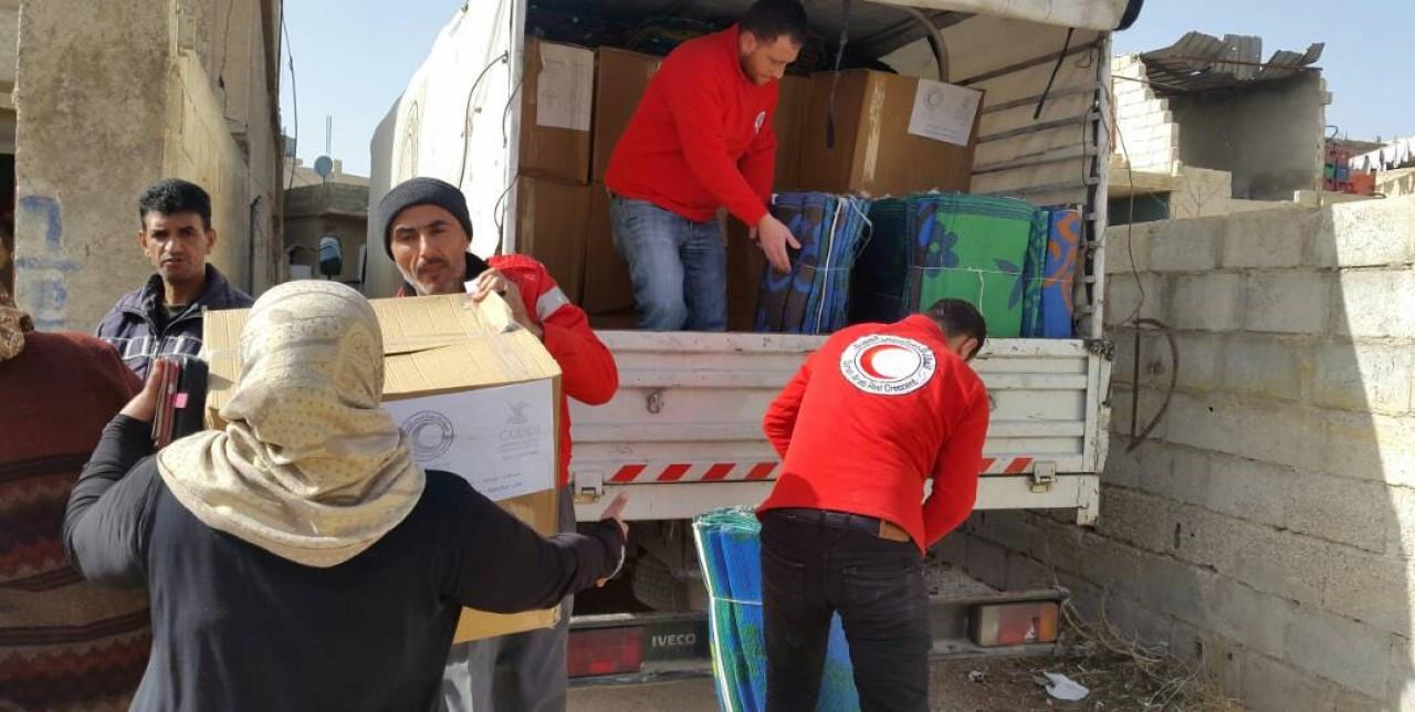 SARCS Damascus: hygiene kits to prevent diseases