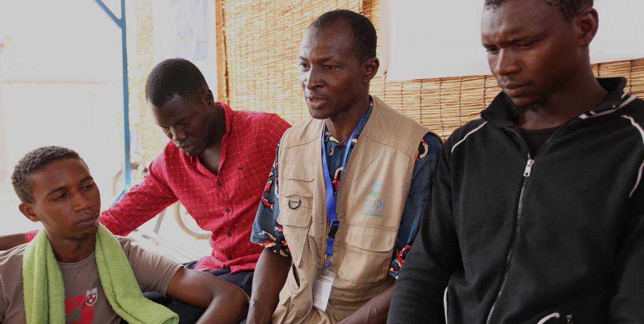 Niger, sheltering Libyan refugees