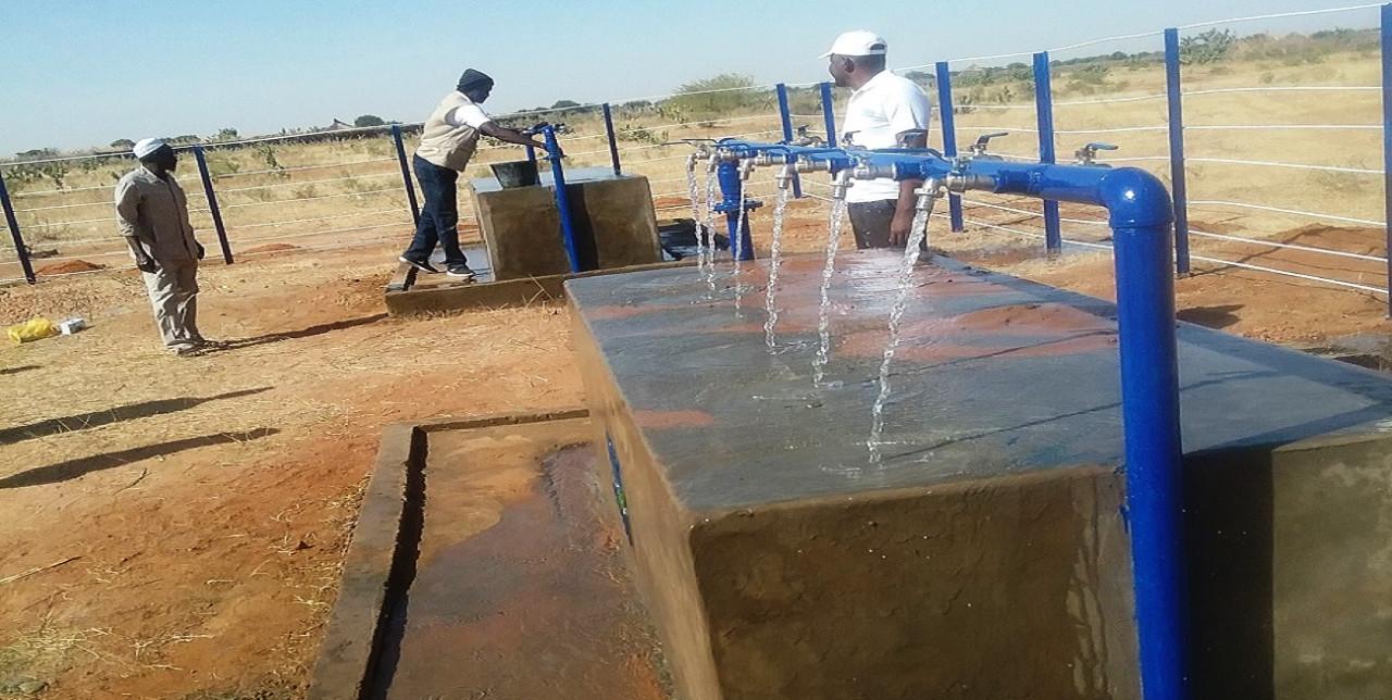 Nord Darfur: l'accesso all'acqua è fondamentale per i rifugiati