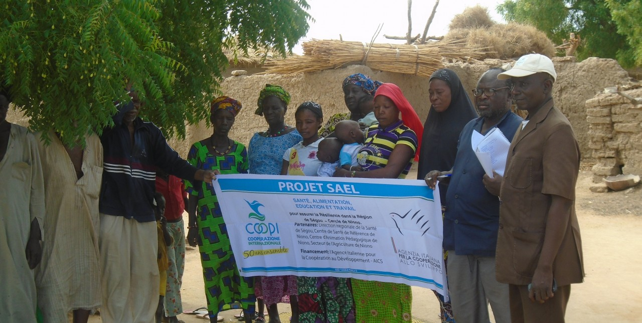 In Mali 461.759 persone iniziano a ricostruire il proprio futuro