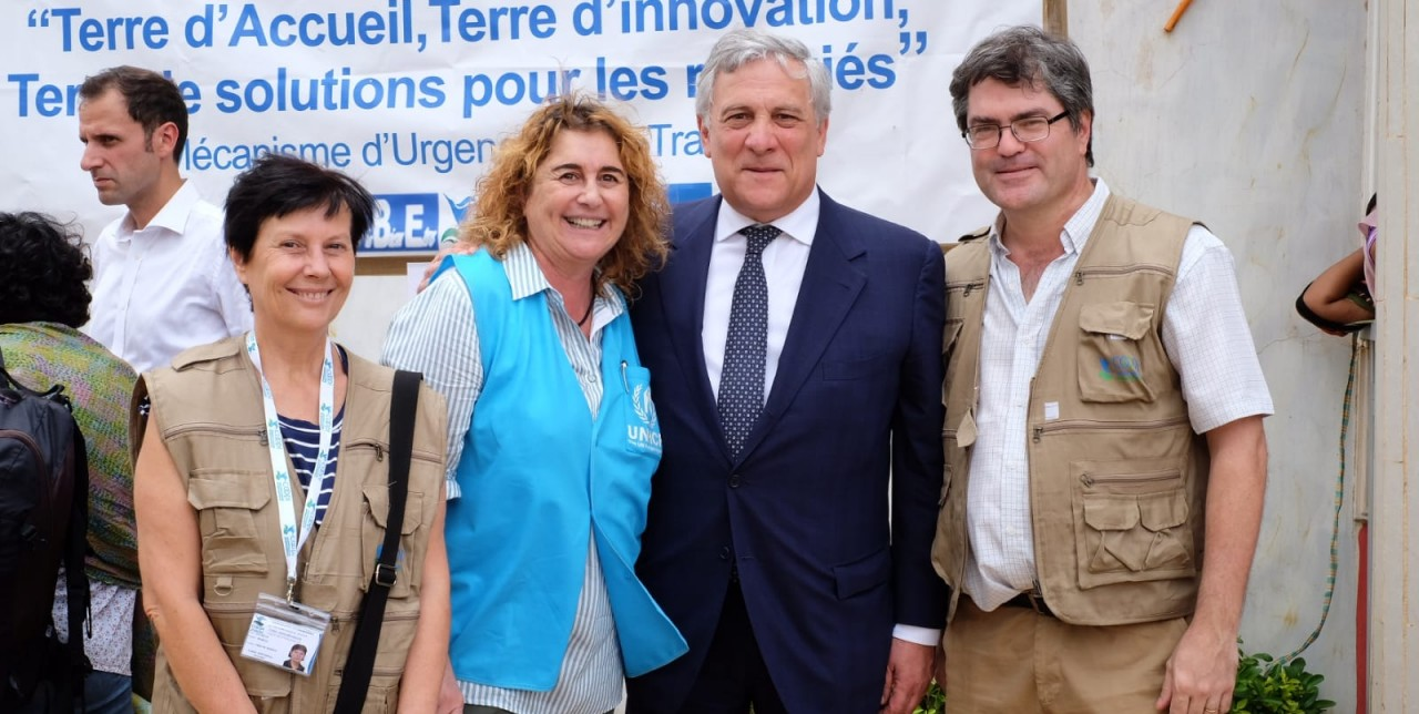 Niger: Tajani visits guest houses in Niamey
