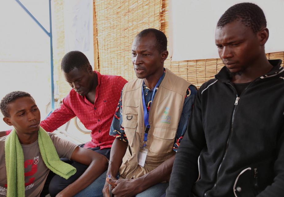 Supporto ai rifugiati dalla Libia