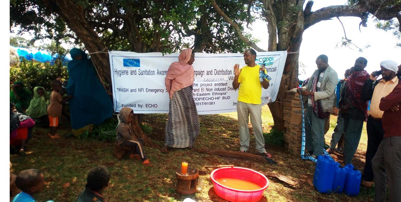 Etiopia: lotta alla siccità, goccia dopo goccia