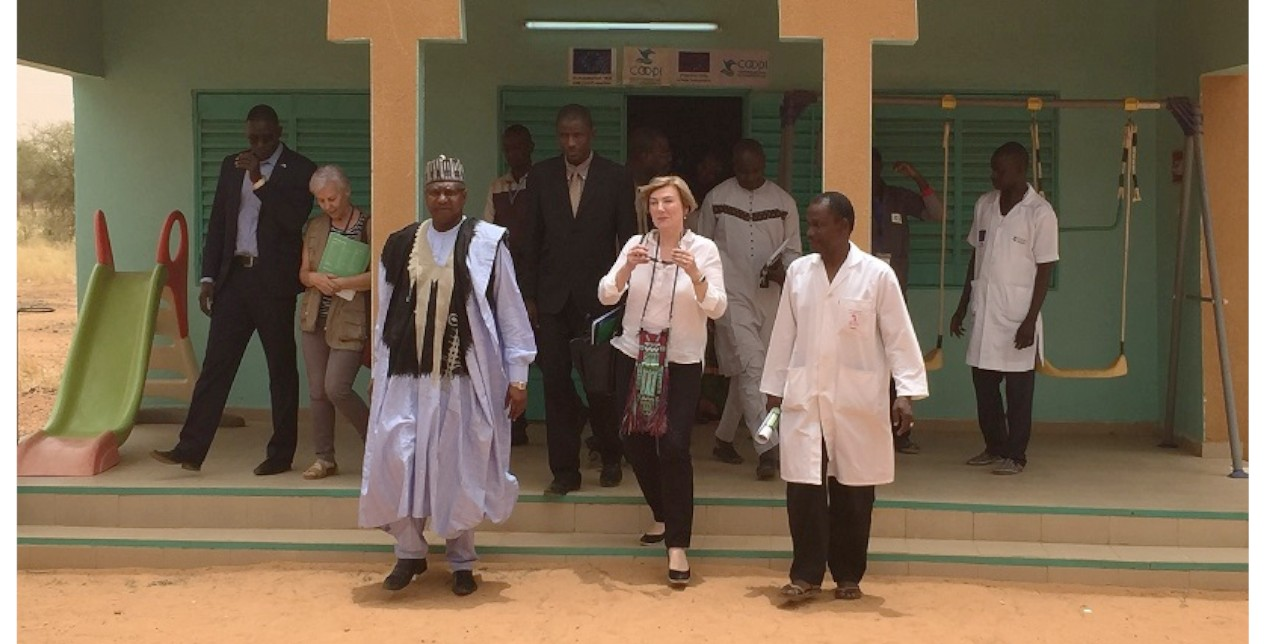 The EU Ambassador to Niger paid a visit to Tillabery