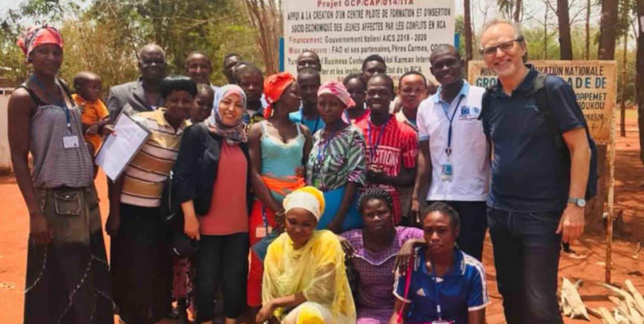 FAO: Incontro con il Premio Nobel per la Pace Muhammad Yunus