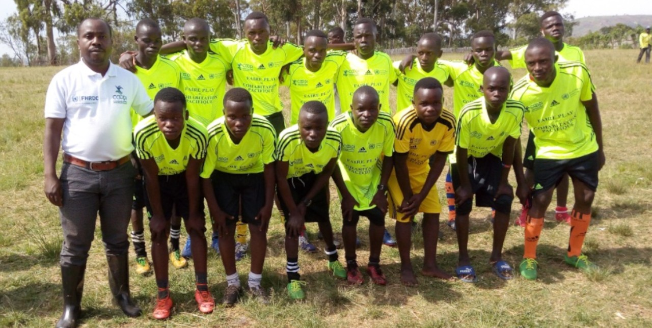 Ituri: Fair play, dal calcio alla vita