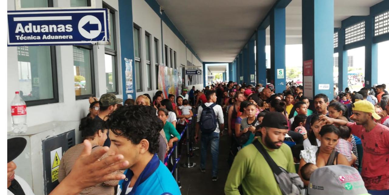 Perù: afflusso record di migranti venezuelani