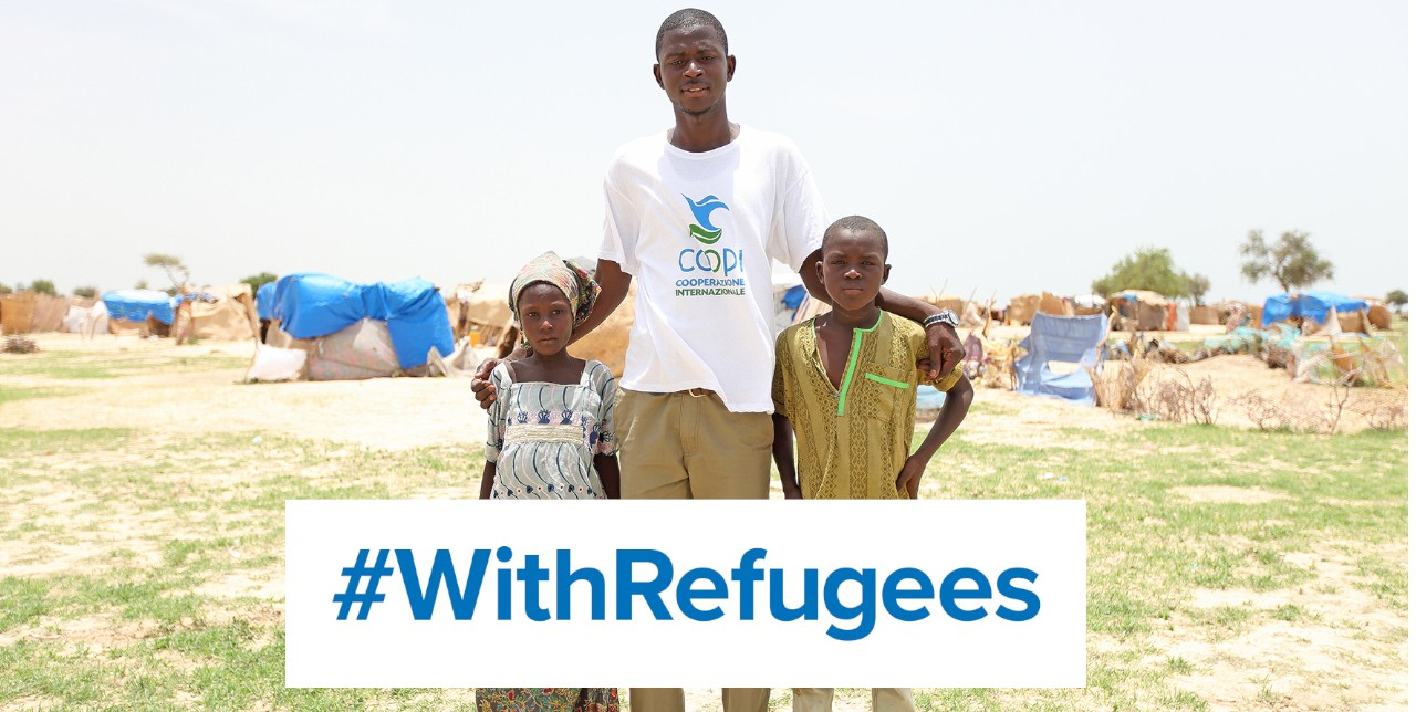 World Refugee Day. More than 70 million people are fleeing