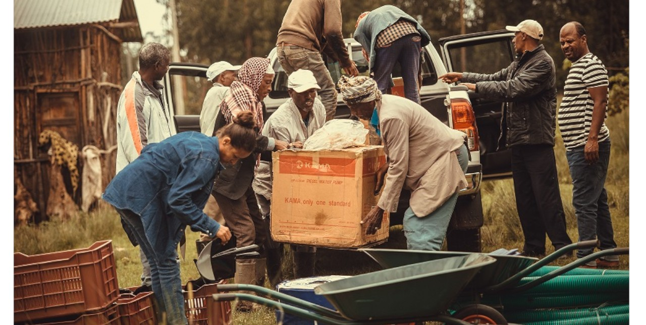 Ethiopia: 40 young vulnerable people and returnees introduced to agriculture