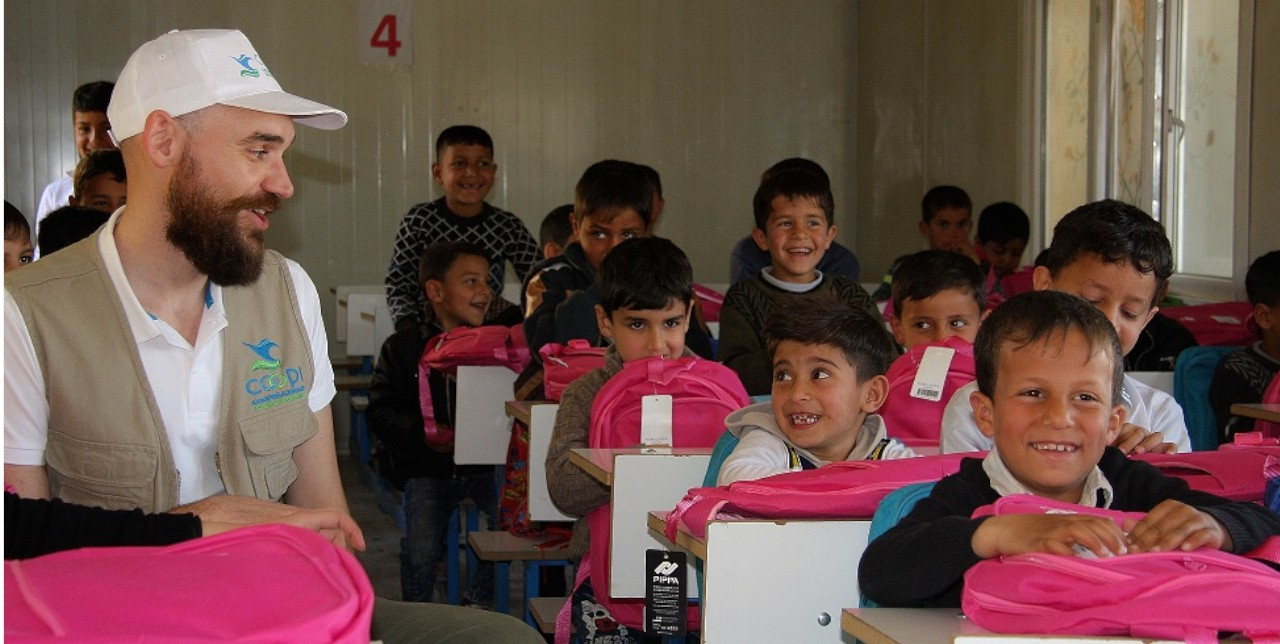 Mosul. The education in emergency project continues