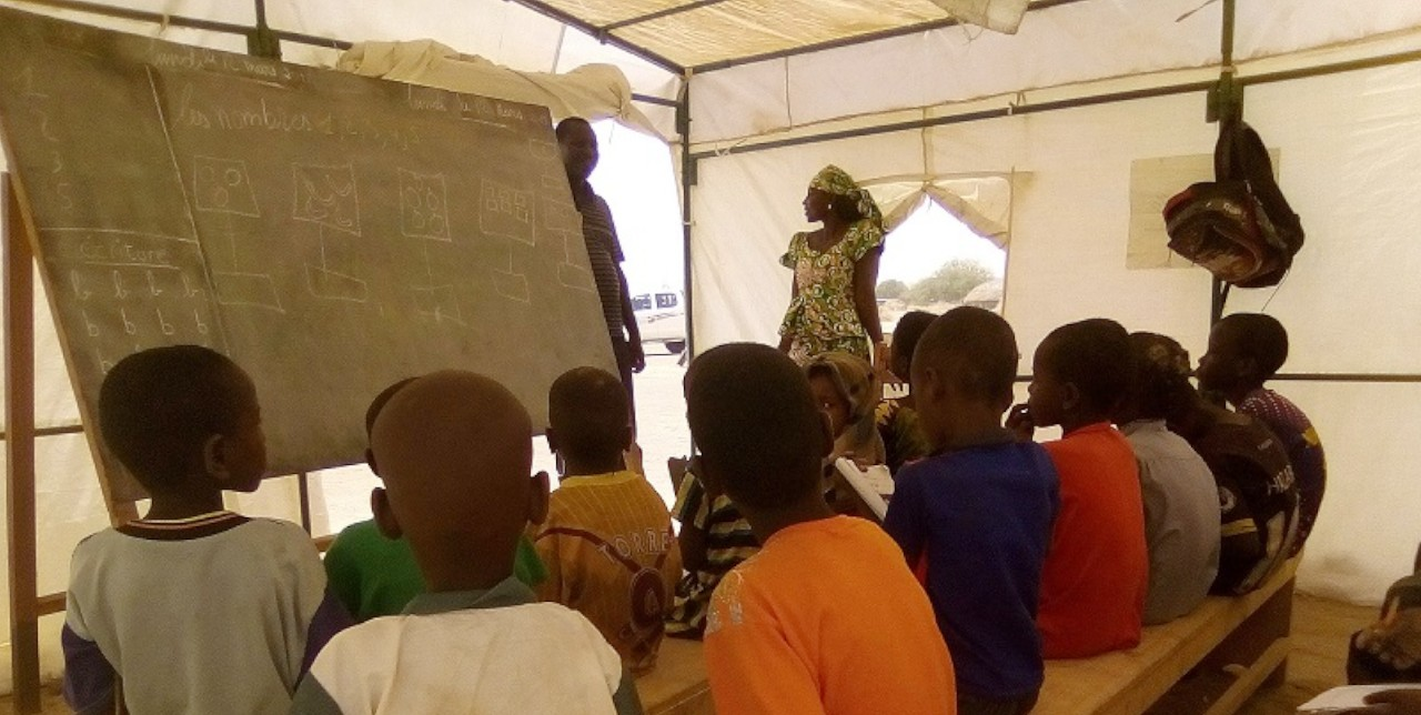 Kananga. L'éducation des enfants rapatriés d'Angola