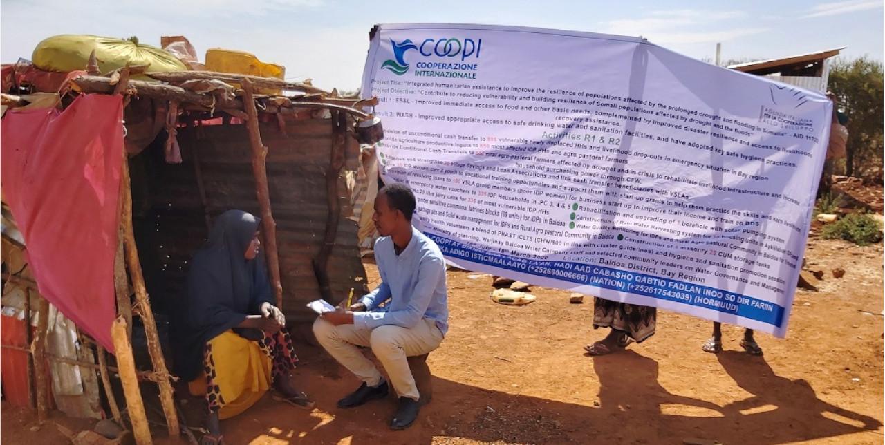 Somalia. Nuovi servizi igienici migliorano la salute tra gli sfollati di Baidoa.