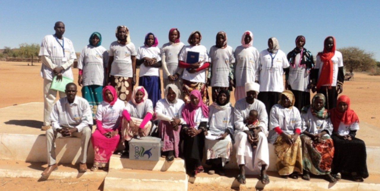 North Darfur. Village Saving and Loans Association Groups help reduce vulnerability to shock