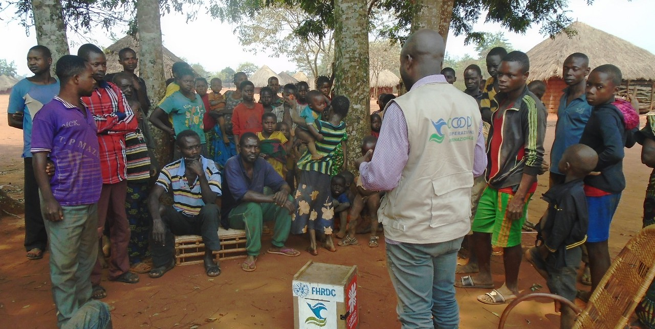 RDC. Education and protection are the priorities in Yangala Region