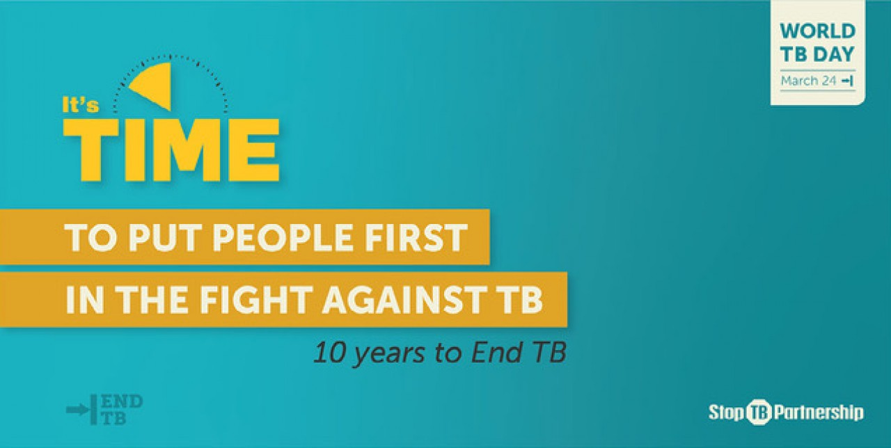 Let's end TB, let's strengthen global health