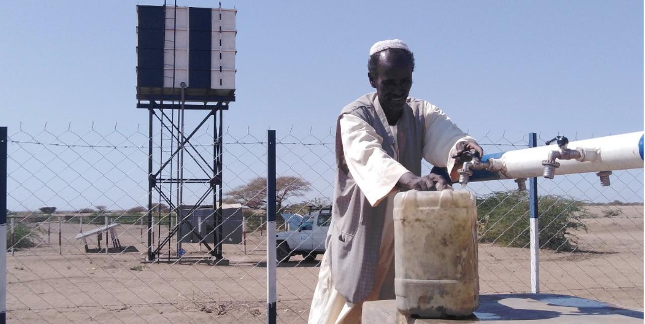 "Sudan. Adam: ""Now my family has enough water"""