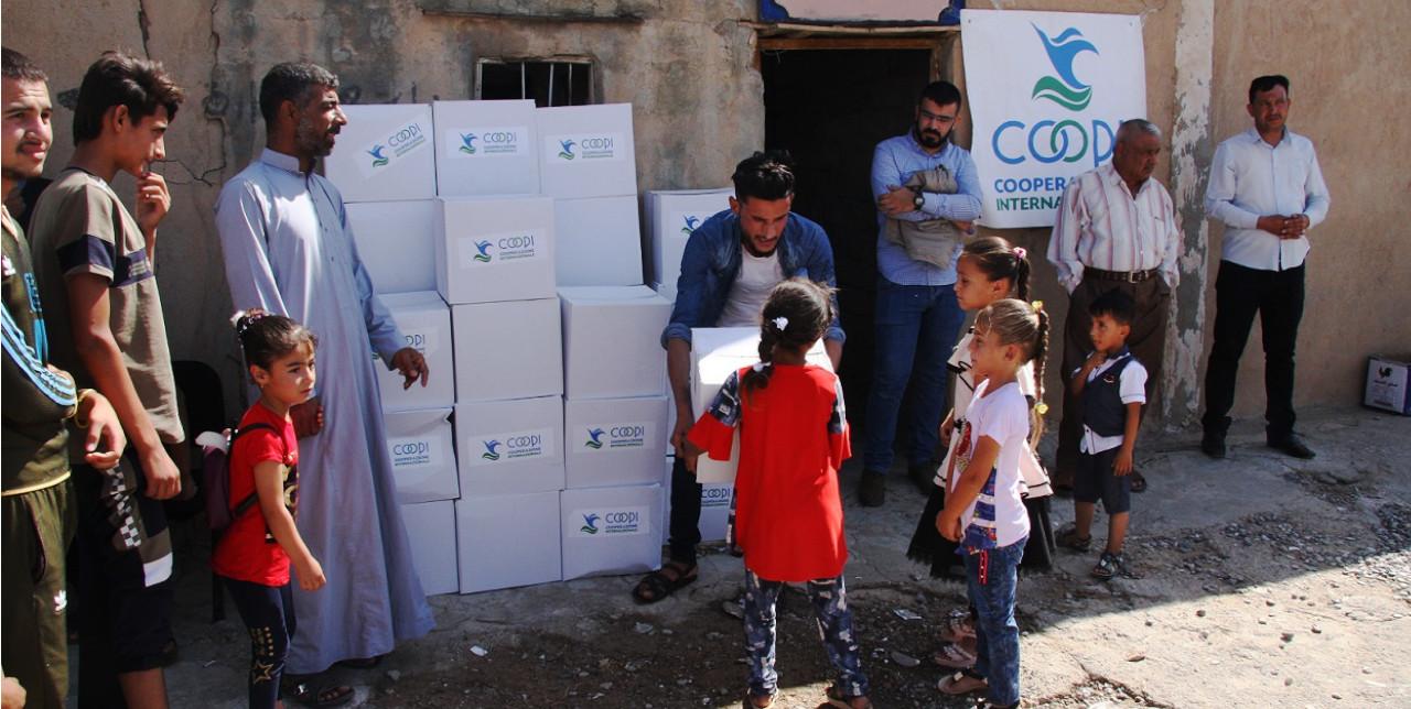 COVID-19. La nostra risposta in Iraq