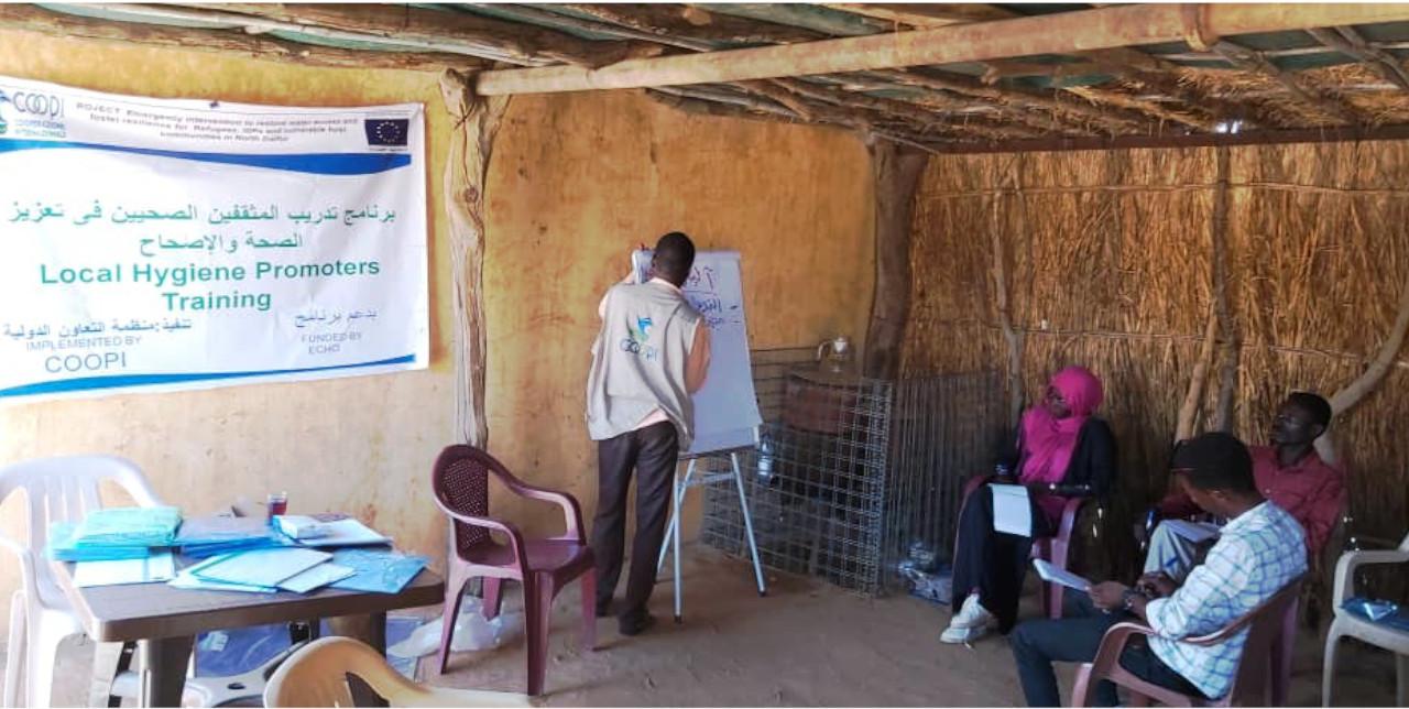 Covid-19. In Nord Darfur, garantiamo l'accesso all'acqua nonostante le difficoltà