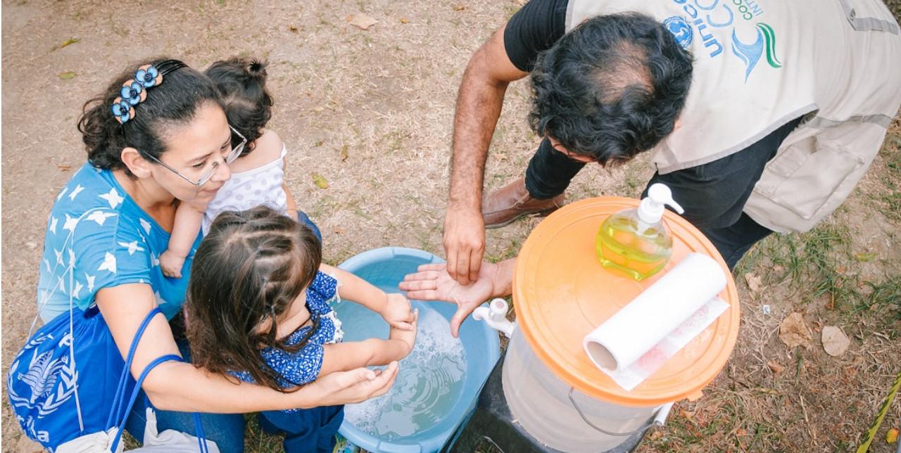 Covid-19. In Perù, kit e servizi igienici per le famiglie migranti venezuelane