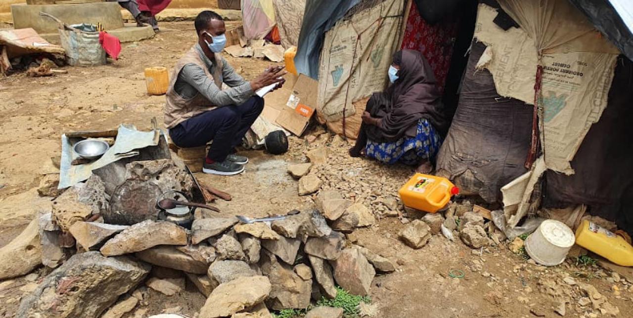 Somalia. Multi-purpose cash support helping Sharifo to feed their children
