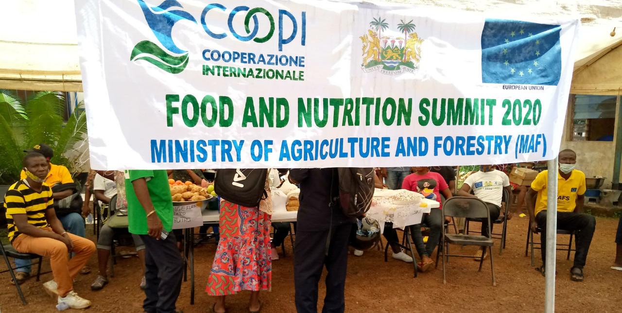 Sierra Leone. COOPI organizza il Food and Nutrition Summit 2020