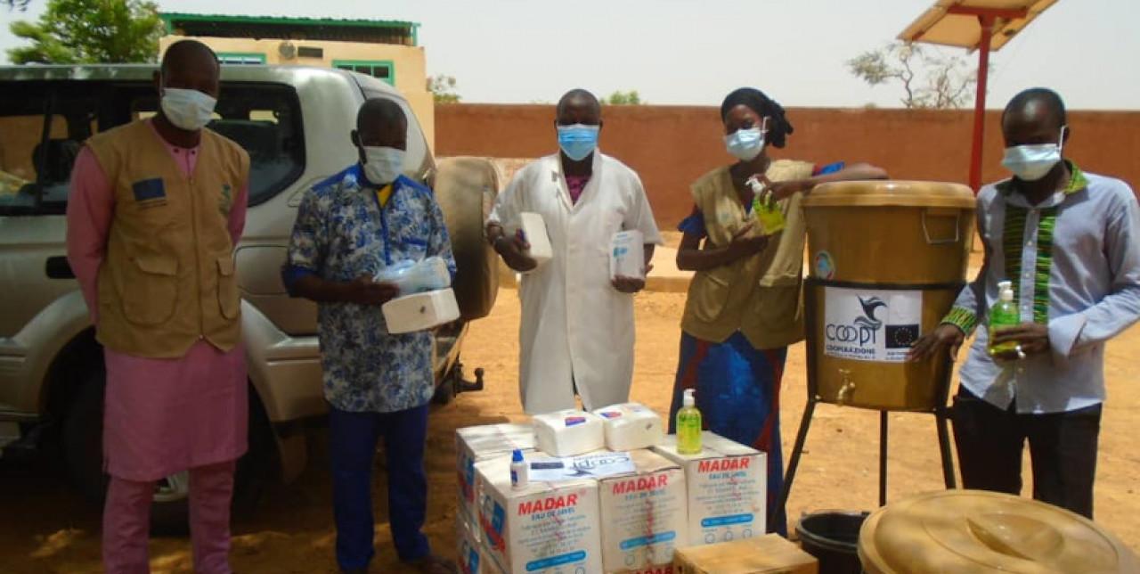 COVID-19. COOPI continue son engagement au Mali