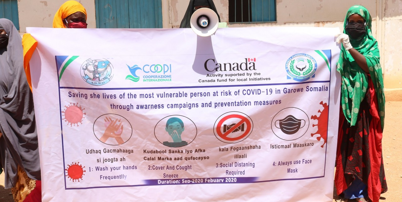 Somalia. Strengthening the response to COVID-19 in the most at-risk communities
