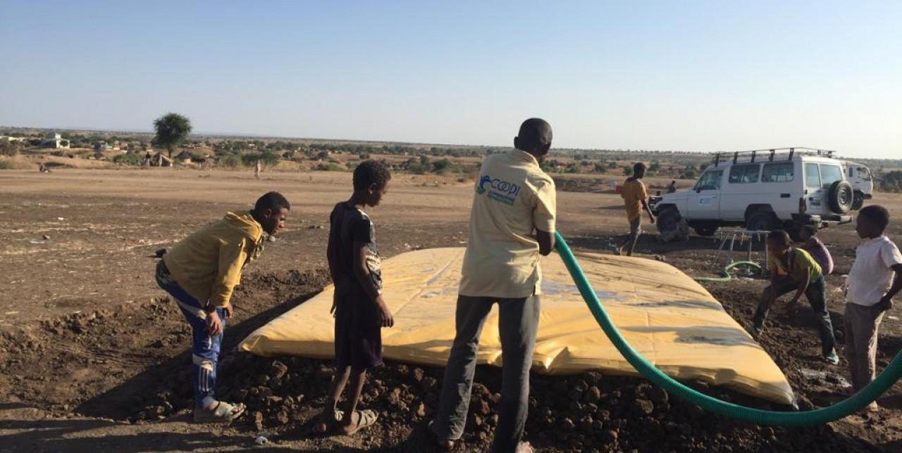 Ethiopian crisis. COOPI immediately mobilised in Sudan and Ethiopia