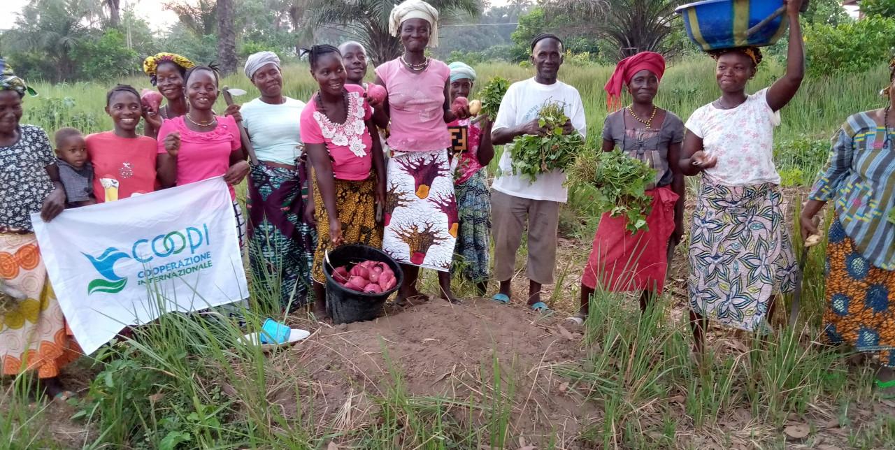 Sierra Leone. COOPI promuove la patata dolce a polpa arancione per combattere la malnutrizione