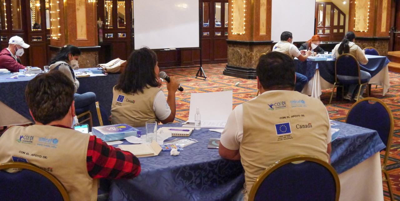 Ecuador. COOPI e UNICEF formano i lavoratori pubblici e della società civile per la prevenzione della violenza di genere
