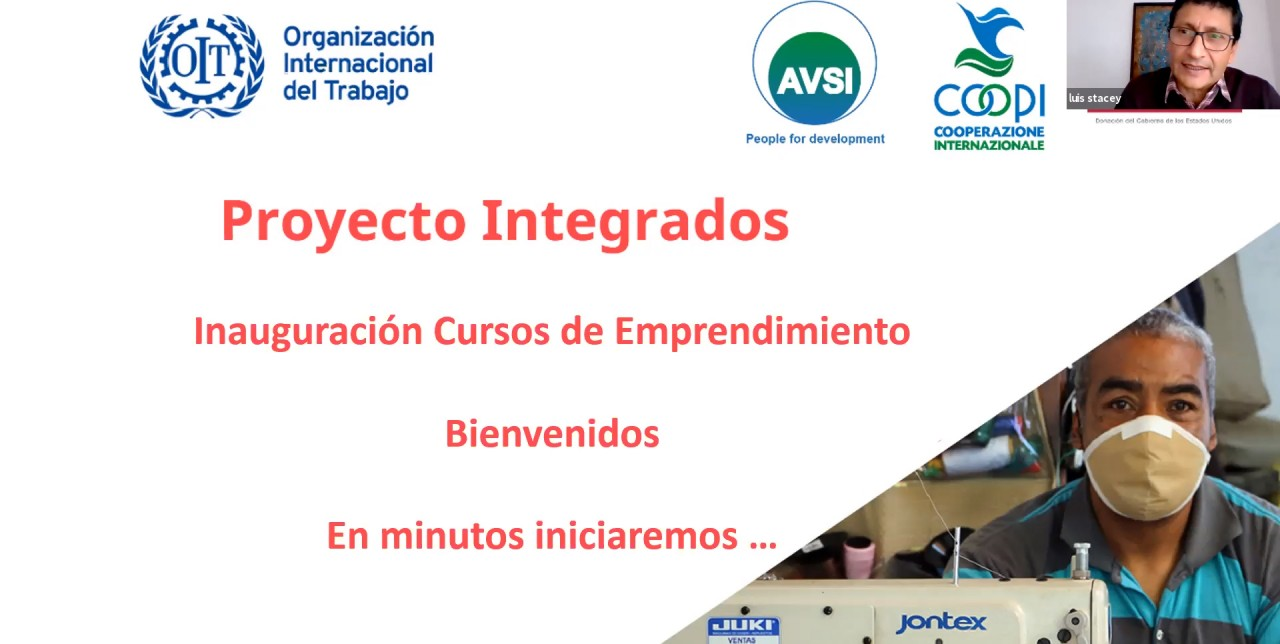 Ecuador. COOPI and ILO support entrepreneurial training for 169 people