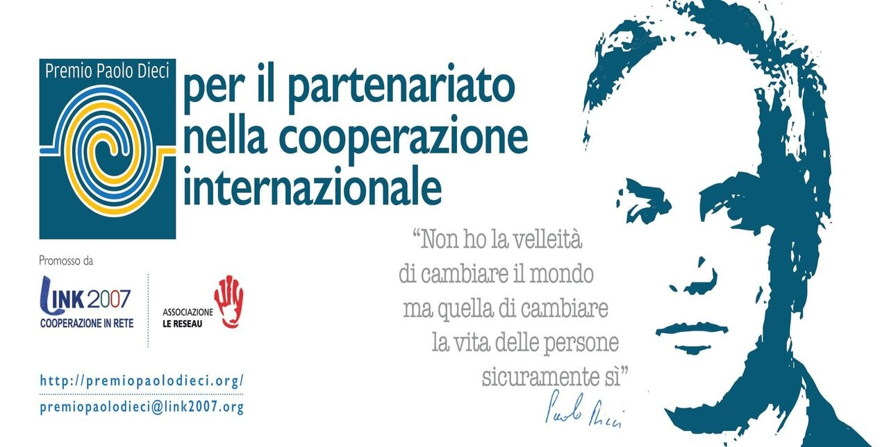 Premio Paolo Dieci per il partenariato tra OSC e Diaspore - Webinar mercoledì 10 marzo, ore 17