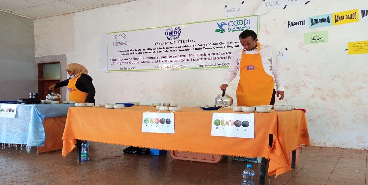 Etiopia. COOPI supporta la produzione di caffè di qualità