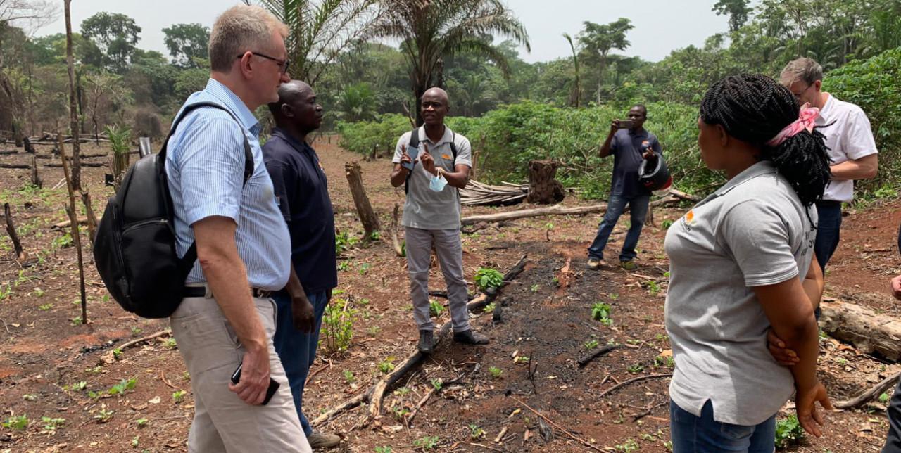 RDC. L'Ambasciatore dell'Unione Europea visita il progetto a Bili