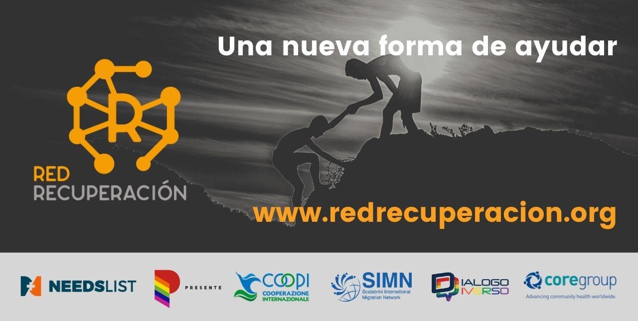 Red Recuperación: una plataforma para ayudar a la población migrante venezolana