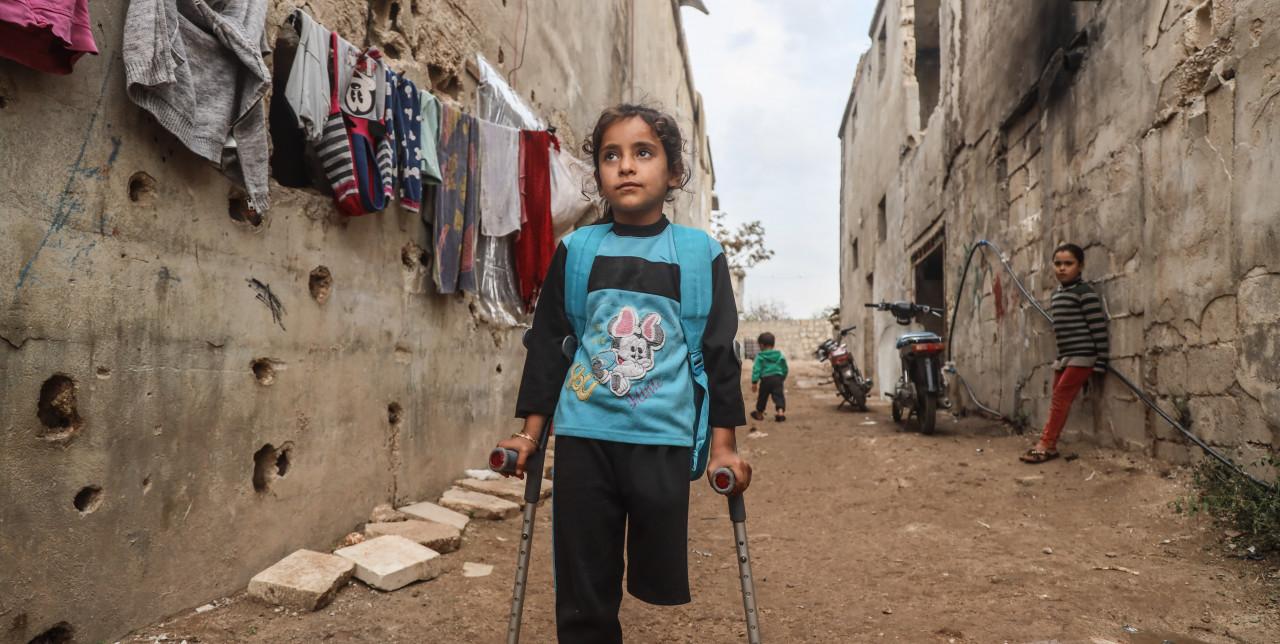 10 anni di guerra in Siria. I bambini hanno bisogno di noi.