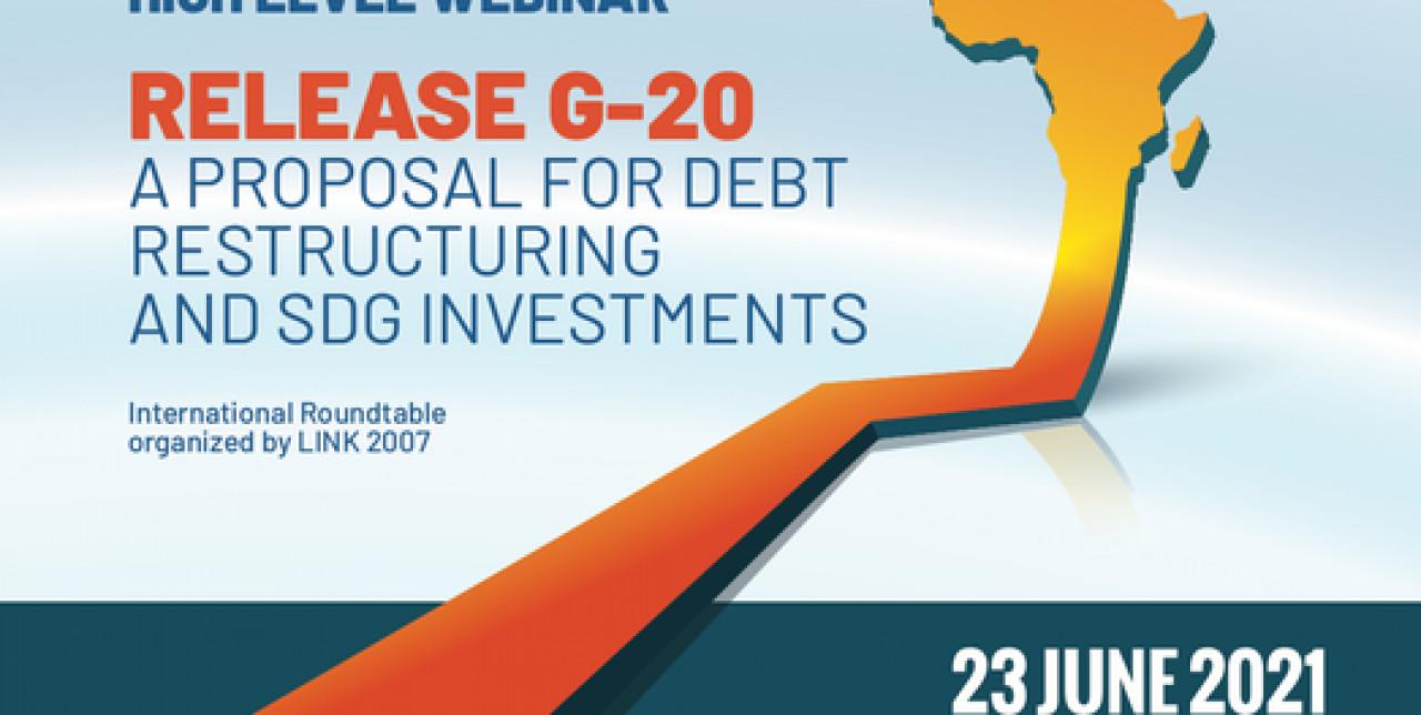 Release G20, la proposta per convertire il debito è un impegno per lo sviluppo sostenibile