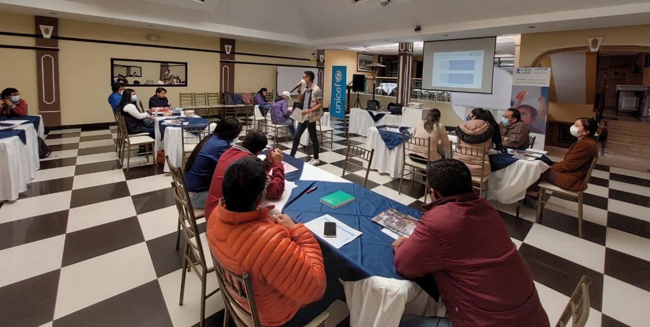 Ecuador. Funzionari locali formati da COOPI e Unicef