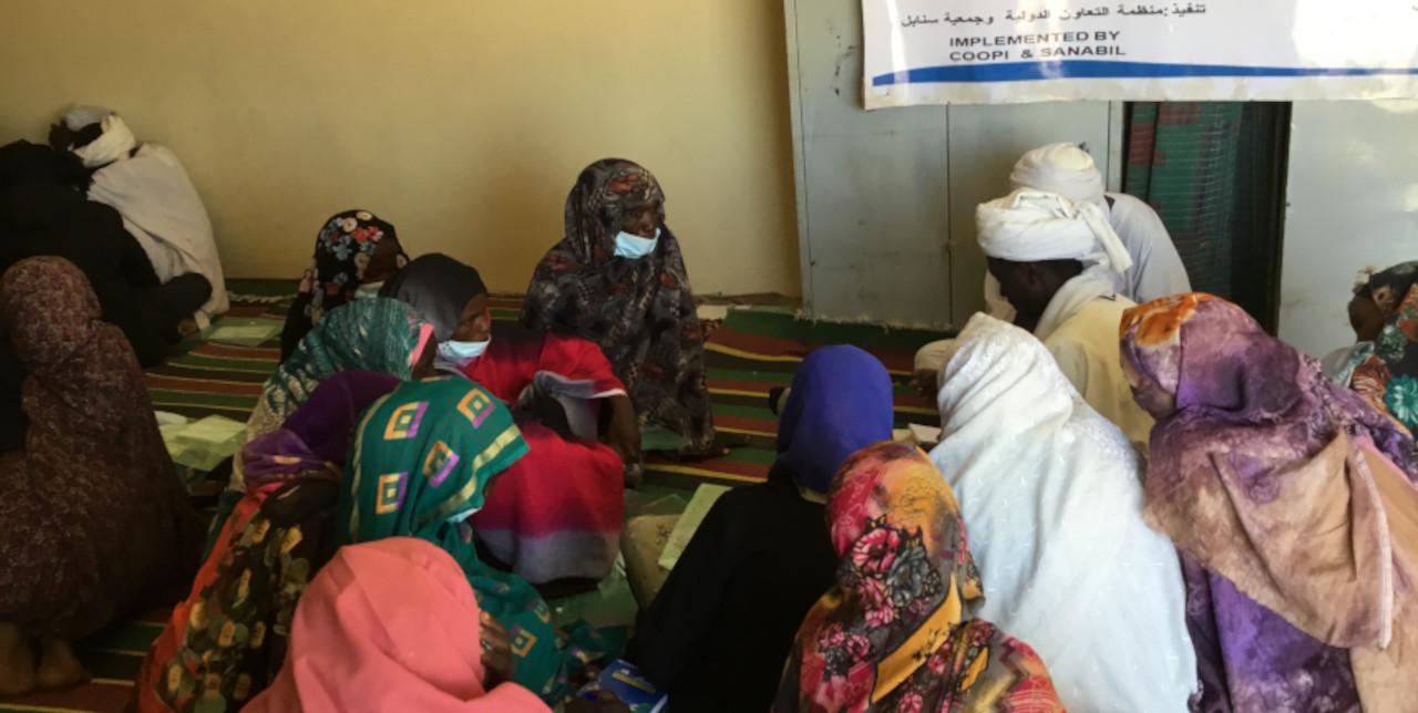 Nord Darfur. 1.800 famiglie beneficiano della formazione, distribuzione di semi e attrezzi agricoli