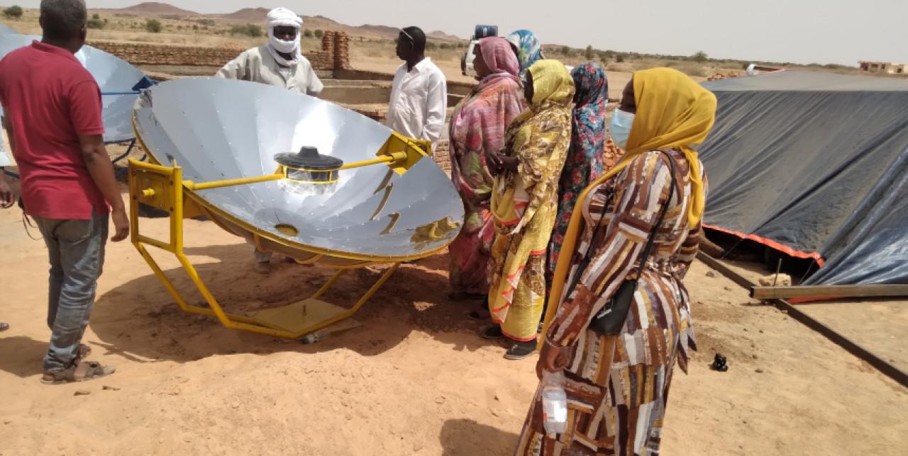 Nord Darfur. Cucinare con il sole