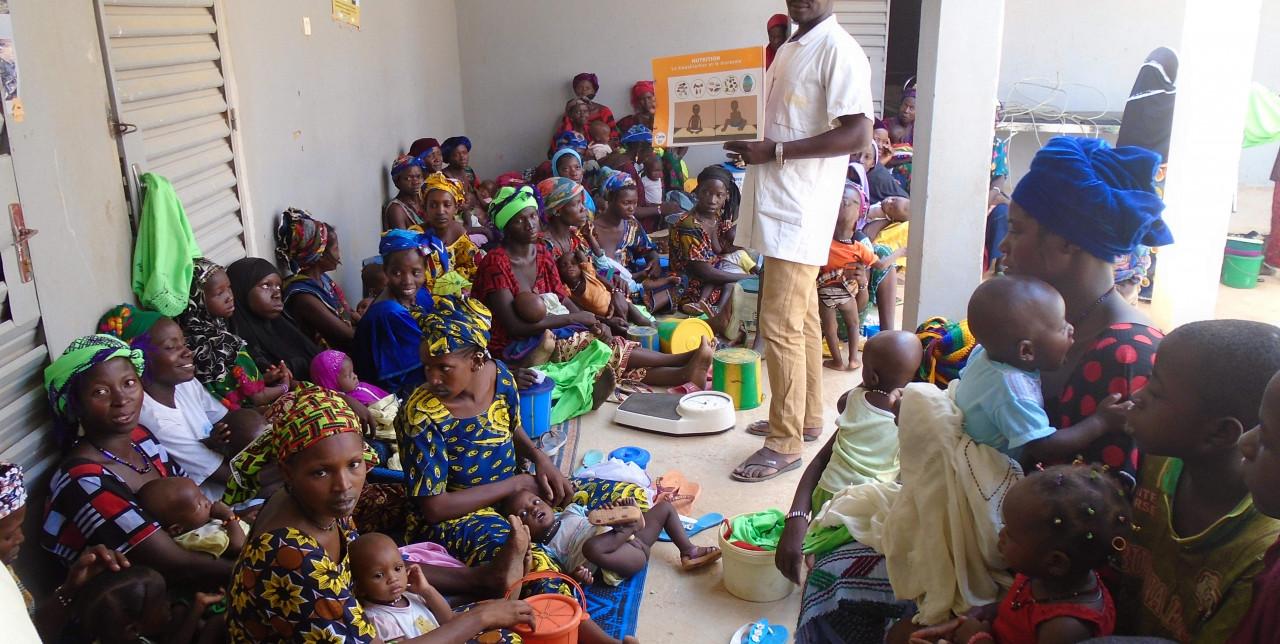 Dal 2012 contro la malnutrizione in Mali