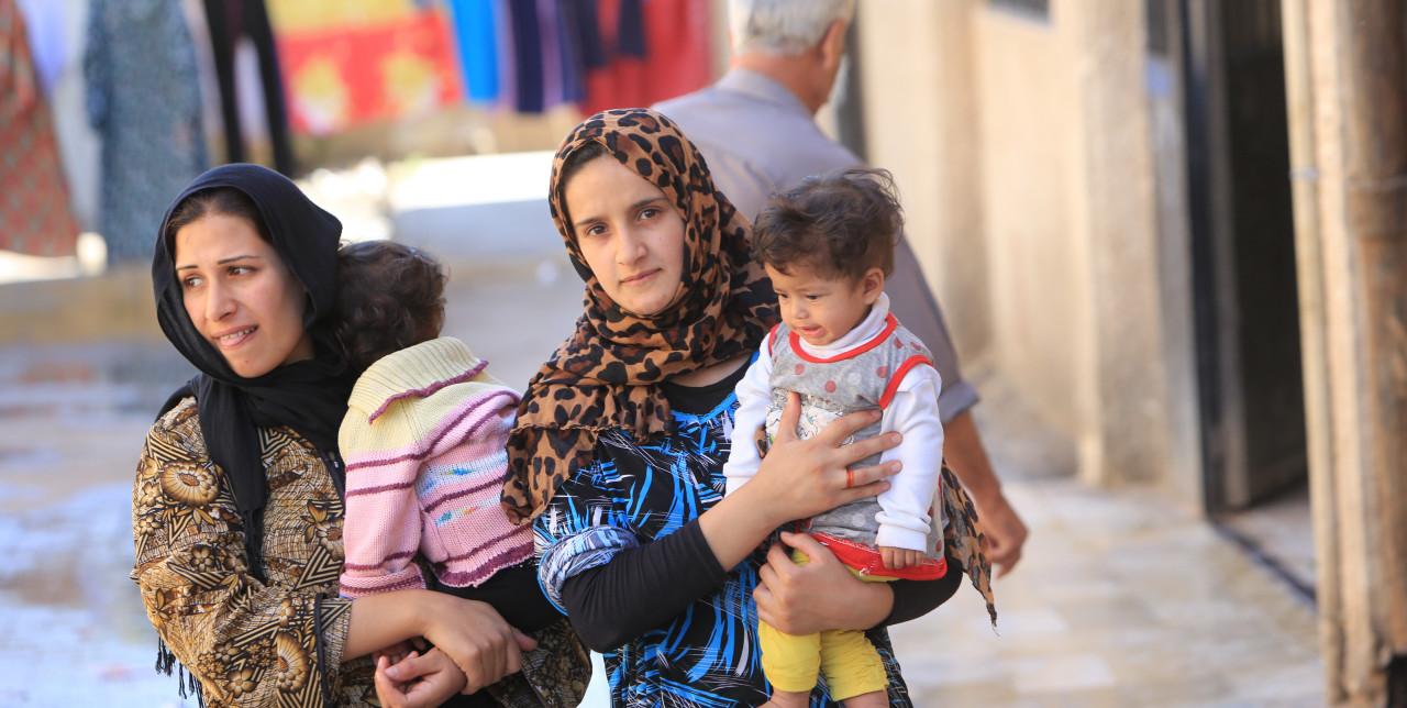Syria: COOPI visits Qatana community