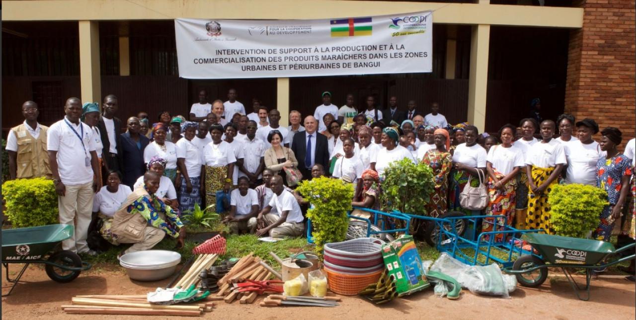 La Cooperazione Italiana non dimentica Bangui