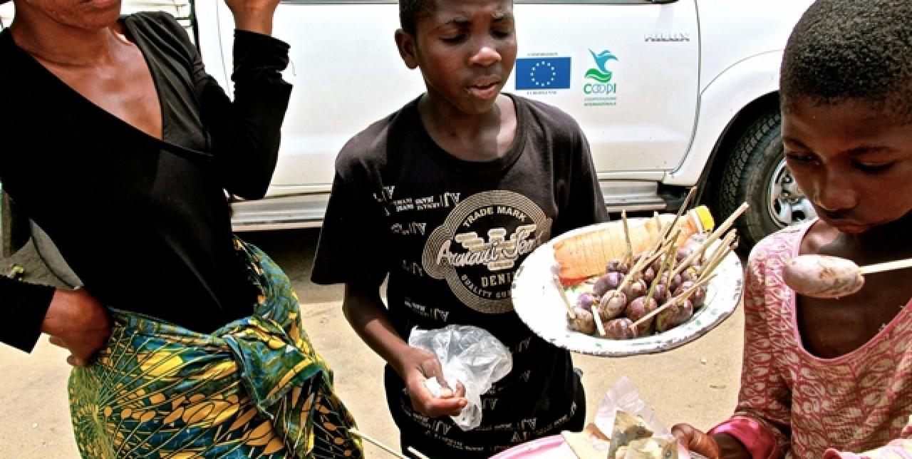 Bilancio del nostro intervento contro la fame a Kinshasa