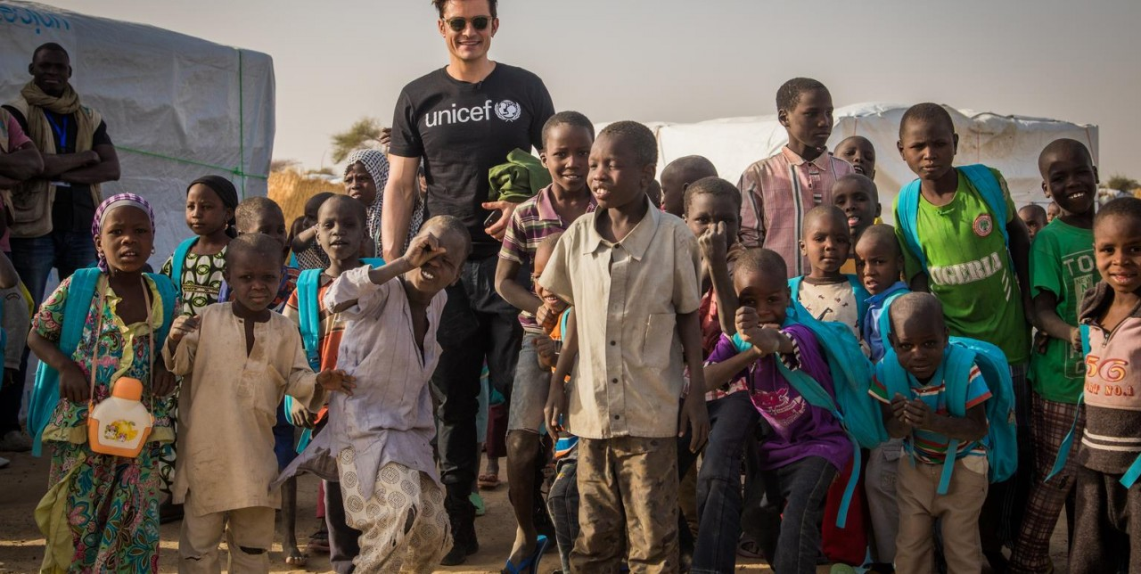 Orlando Bloom visita i progetti COOPI in Niger